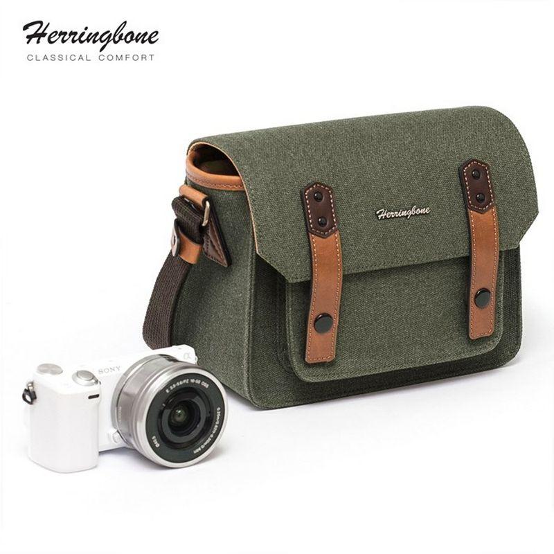 Túi máy ảnh Herringbone Papaspocket V3 Small - Olive color