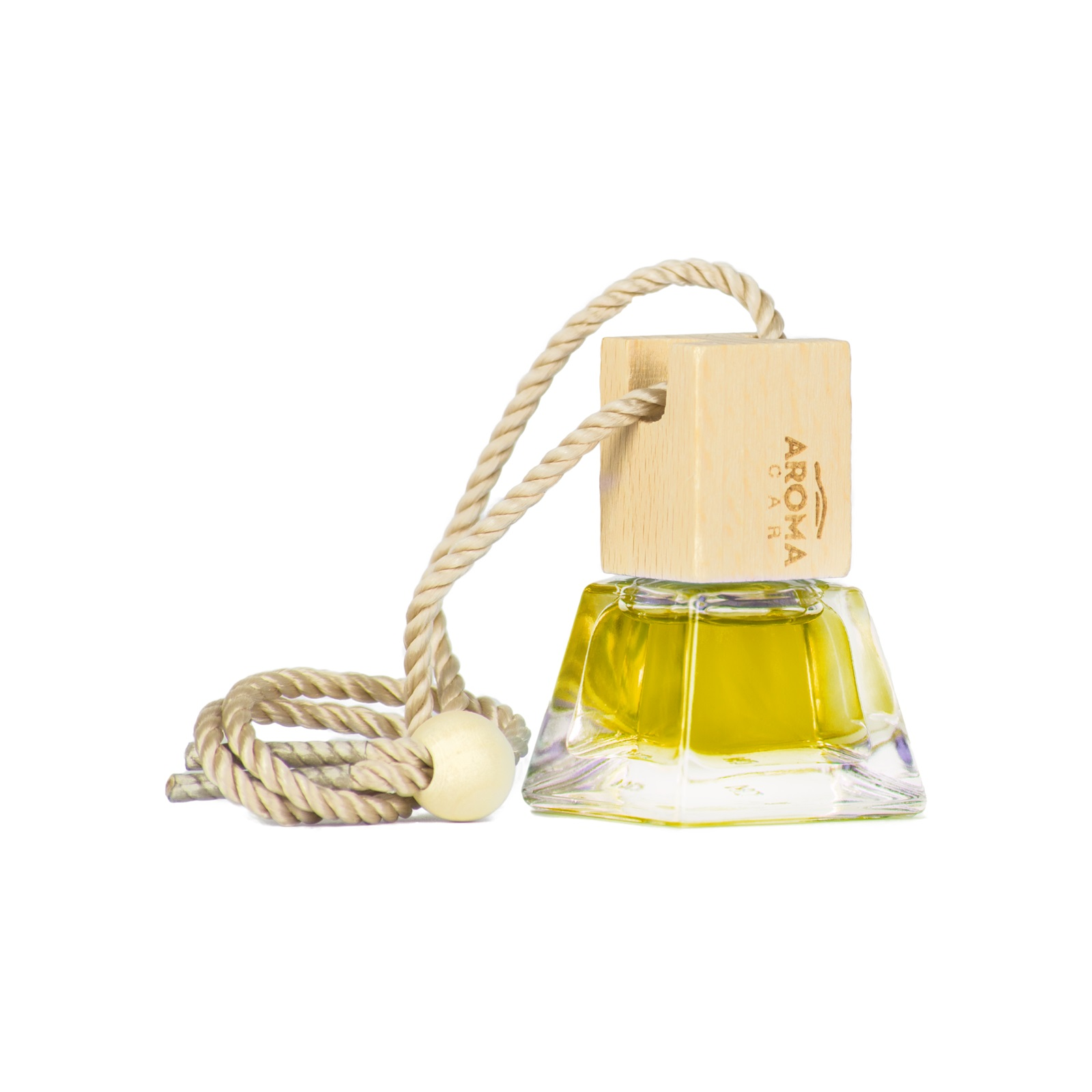 Tinh dầu treo  ô tô Aroma Car Crystal Wood 7ml - Vanilla (hương Vani)