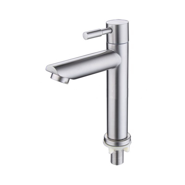 Vòi Lavabo Lạnh inox SUS 304_Vòi Chậu Lavabo_ vòi lavabo inox cao cấp dùng cho chậu rửa mặt