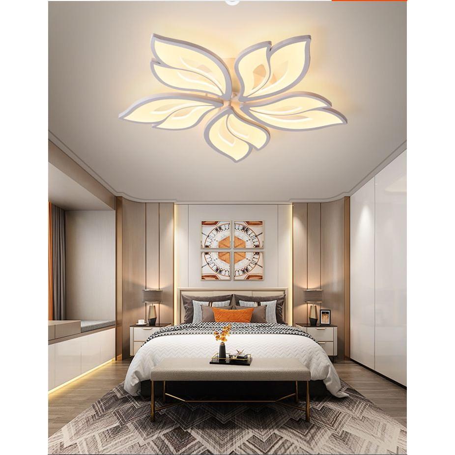 Đèn trần led 3 chế độ ánh sáng KANE trang trí nội thất - có điều khiển từ  xa tiện dụng - Đèn trần Thương hiệu MONSKY