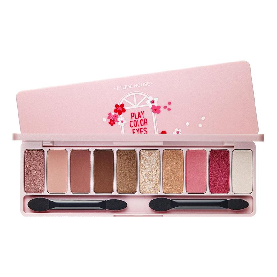 Bảng Phấn Mắt 10 Màu Etude House Play Color Eyes - Cherry Blossom (0.8Gx10)