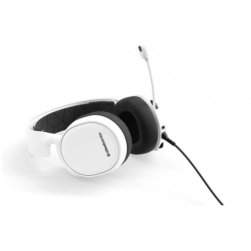 Tai nghe Arctis 3 Black/White-2019 Edition - Hàng chính hãng