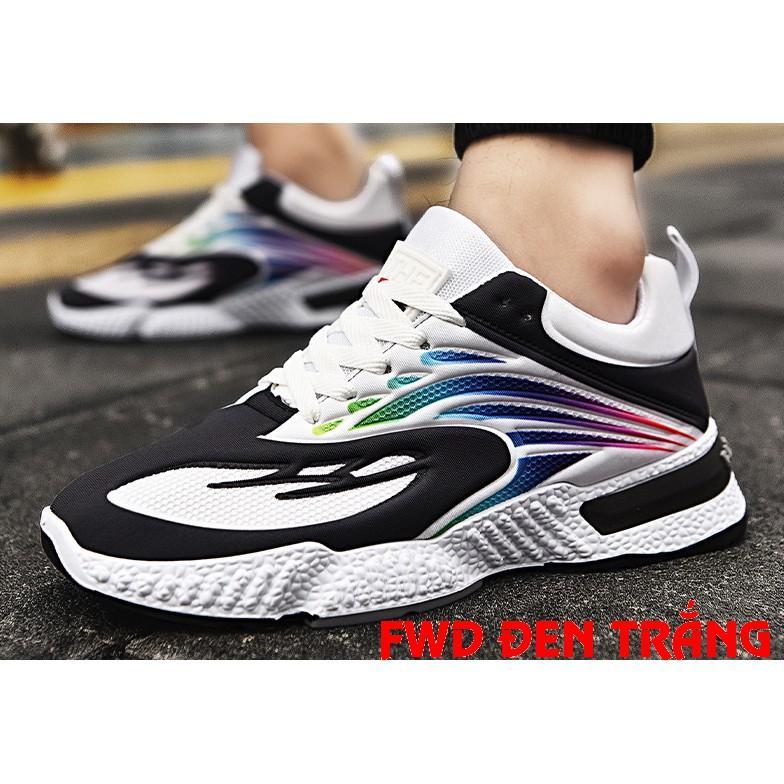 Giày Thể Thao Nam Cao Cấp Siêu Nhẹ Siêu Bền T395 Phong Cách Trẻ Trung Năng Động