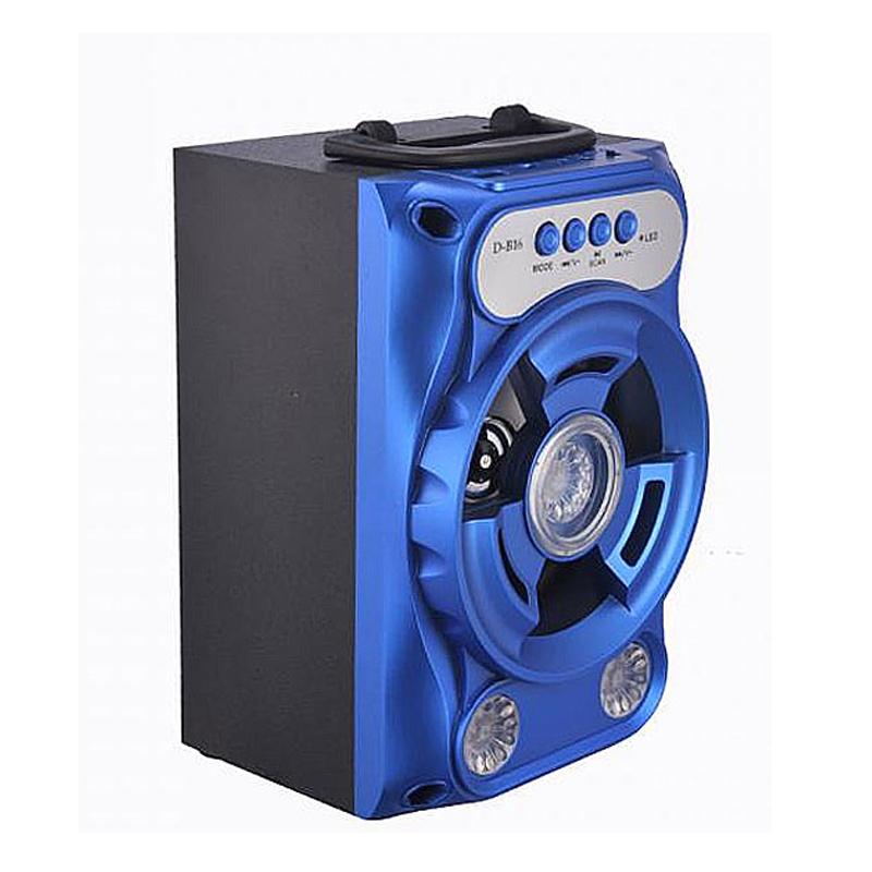 Loa Nghe Nhạc Xách Tay DB16 Hỗ Trợ Bluetooth, USB, Thẻ Nhớ