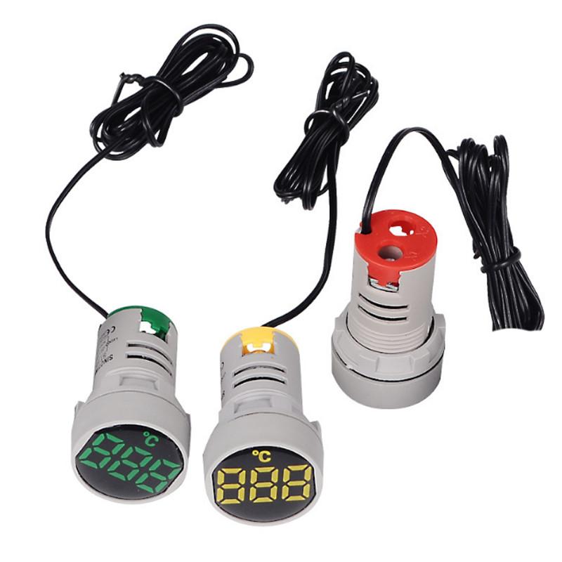 Đèn Báo Cảm Biến Nhiệt Độ Tủ Điện Phi 22 T22-AC