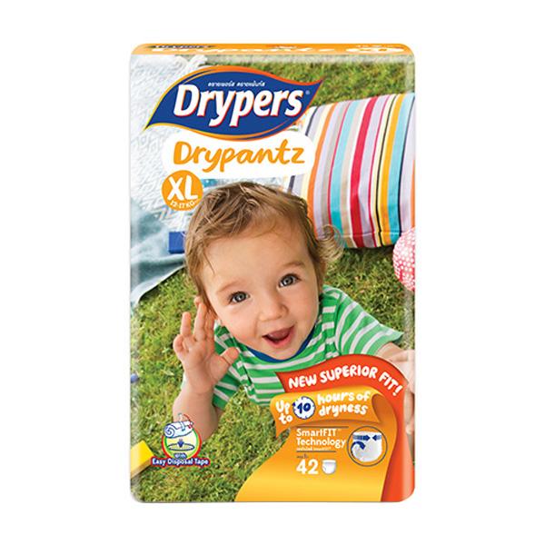 Tã Quần Cho Bé Drypantz Drypers Cực đại XL42 42 Miếng