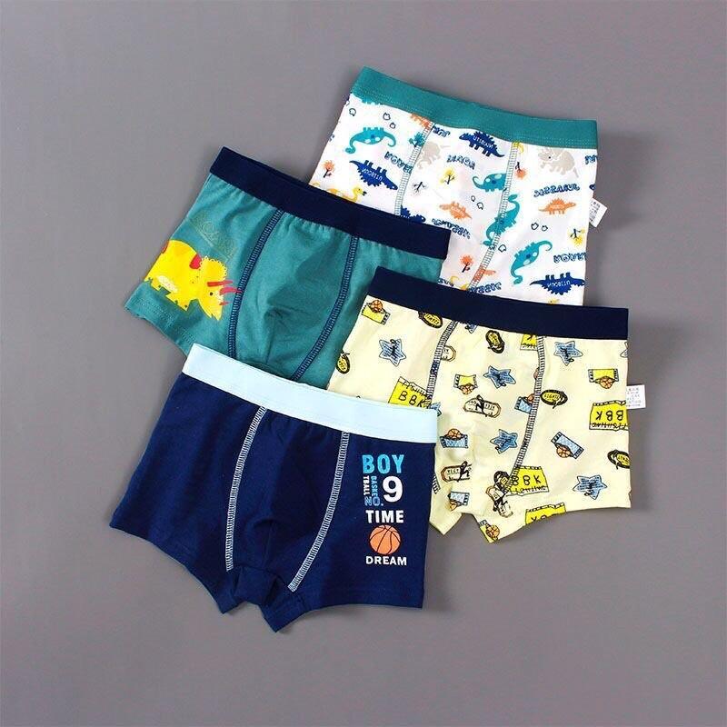 4 quần xịp bé trai size 7-45kg được lựa mẫu
