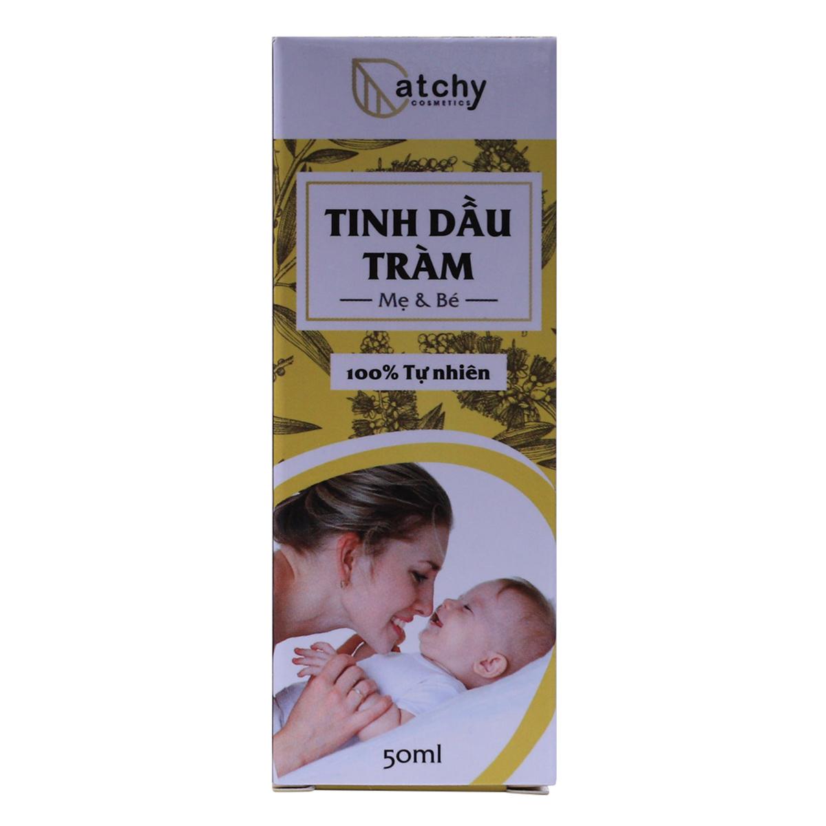 Tinh Dầu Tràm Catchy Cho Mẹ Và Bé (50ml)