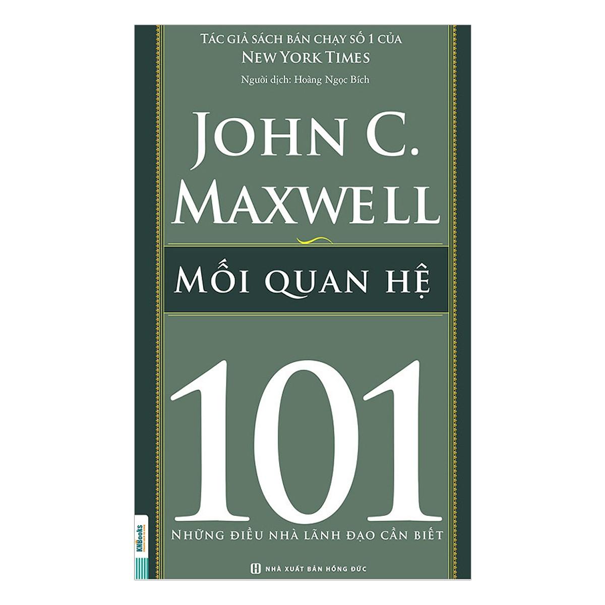 Combo 101 Những Điều Nhà Lãnh Đạo Cần Biết  (Tặng kèm Bookmark PL)