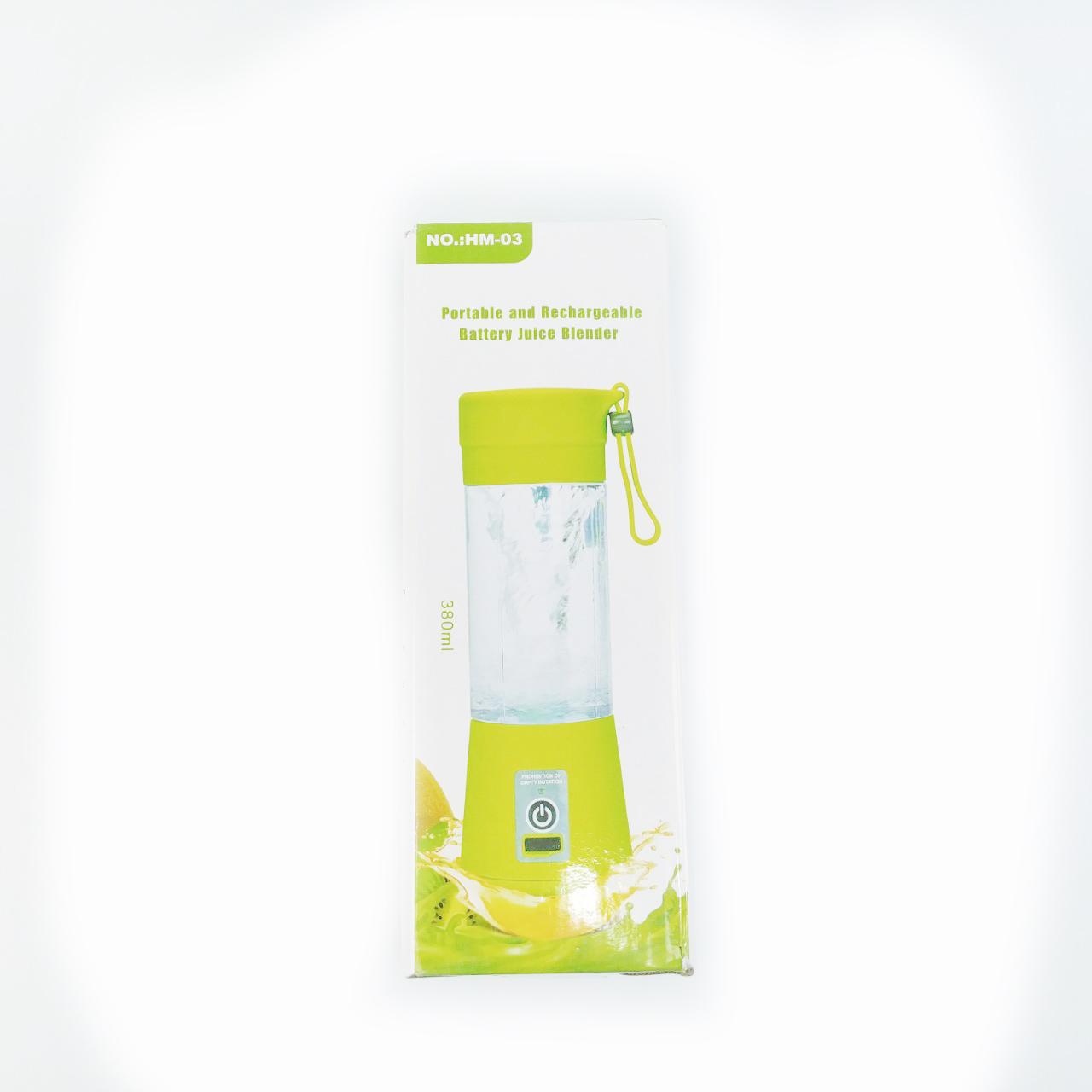 Máy xay sinh tố Juice 380ml tiện dụng ( giao màu ngẫu nhiên )