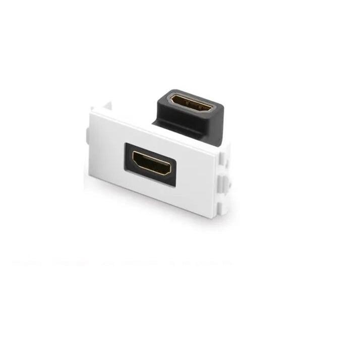 Đế HDMI Âm Tường Bẻ Góc 90 Độ UGREEN GK20318MM113 Hàng chính hãng