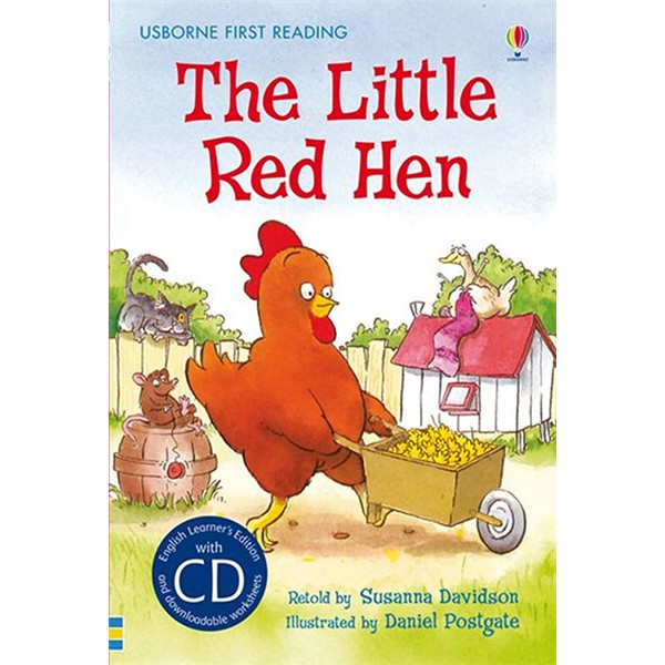 Usborne The Little Red Hen + CD