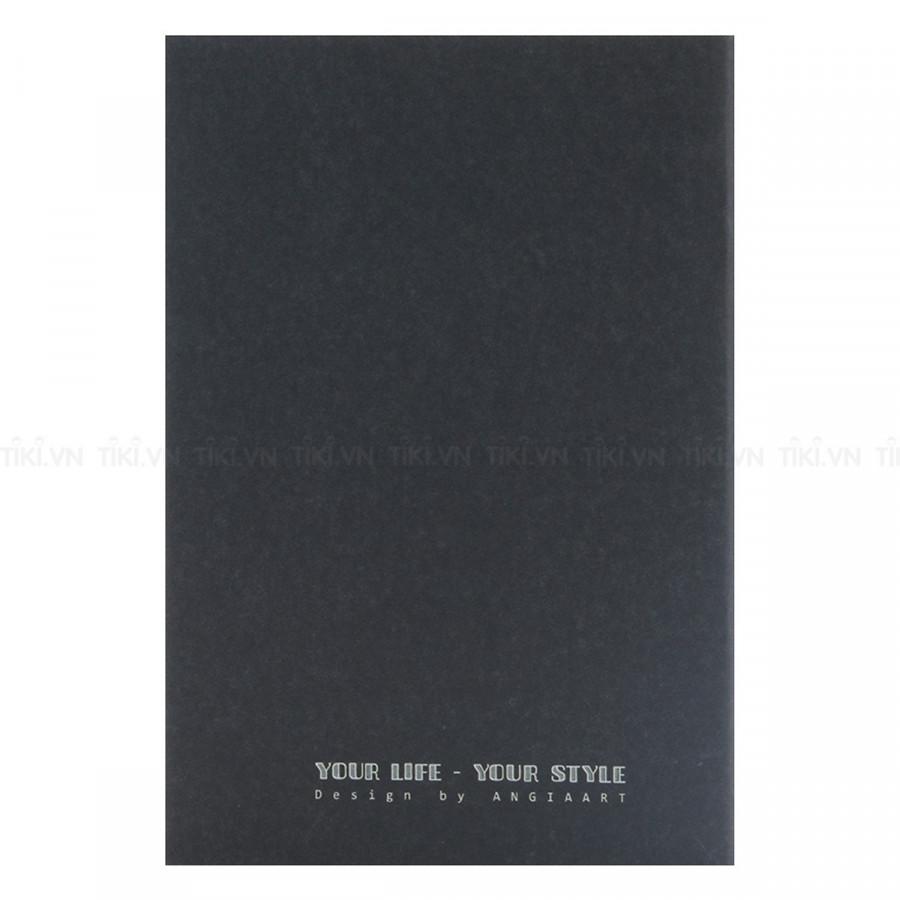 Sổ Tay Mini Angia Art - Moonlight Art 100 Trang (14x9cm)