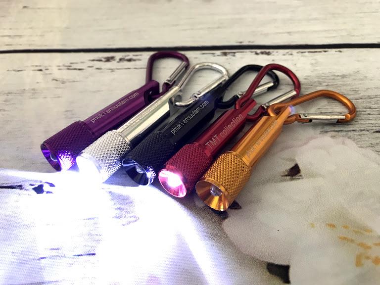 Đèn Pin Led Móc Khóa Siêu Sáng Đa Năng TMT COLLECTION Nhỏ Gọn DPLMK345