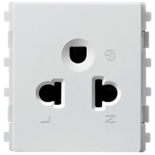 Ổ cắm đơn 3 chấu 16A Schneider Electric dòng ZENCELO A (Size 2S)