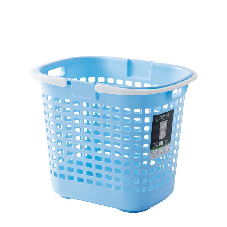Giỏ nhựa Sanada Seiko đựng quần áo có 02 quai xách tay - Nội địa Nhật