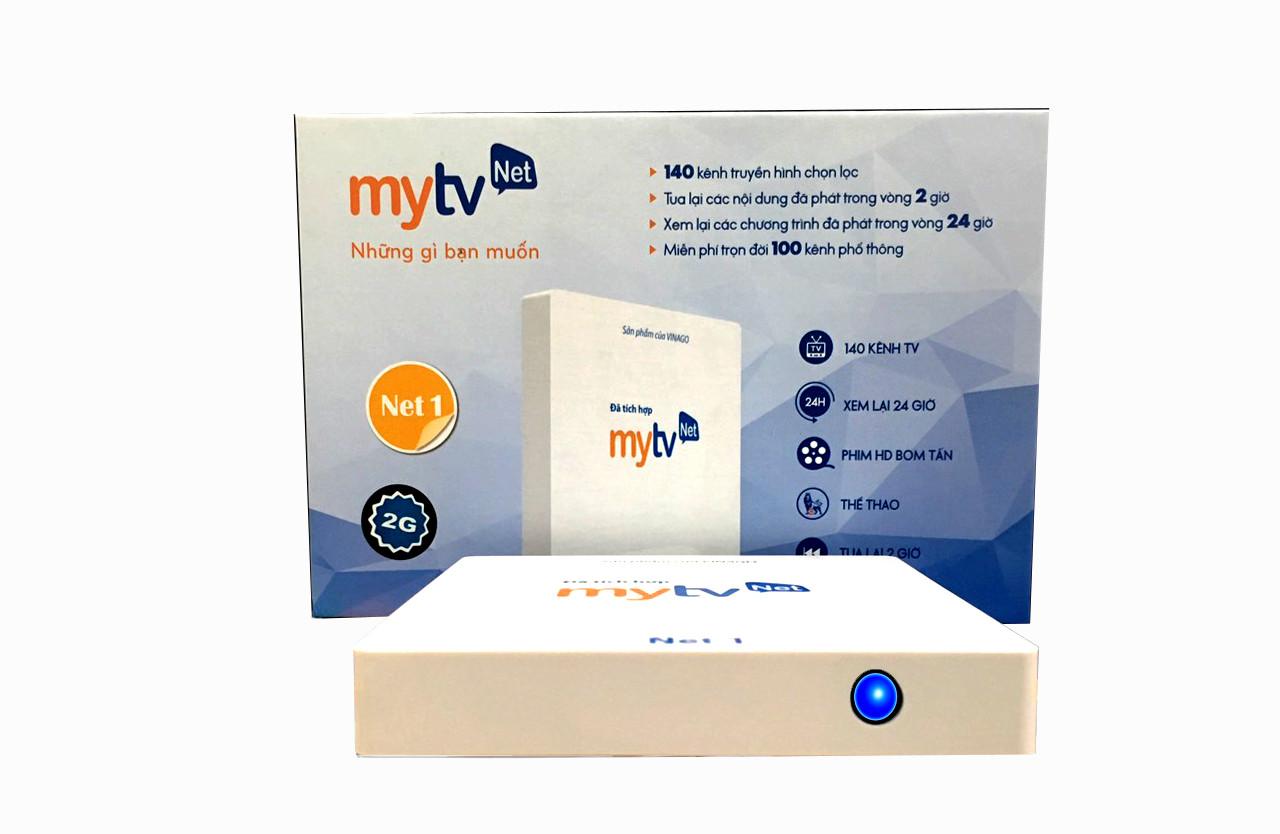 Hộp Android tivi box MyTVNet Net 2019 - Phiên bản Ram 2G, Rom 16 G - Hàng Chính Hãng