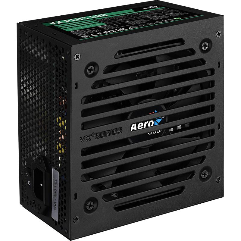 Nguồn máy tính Aerocool VX Plus 600 - 600W - Hàng Chính Hãng