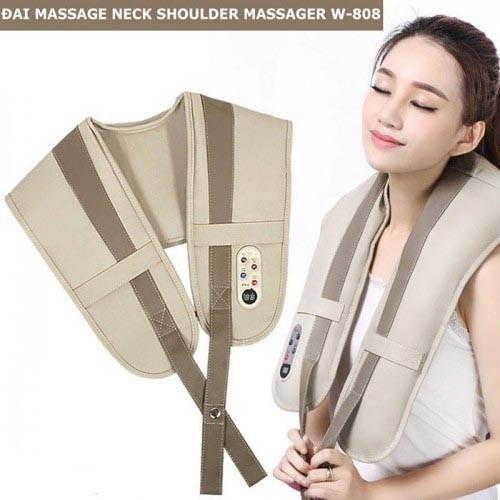 Đai Massage Vai, Lưng, Cổ, Gáy