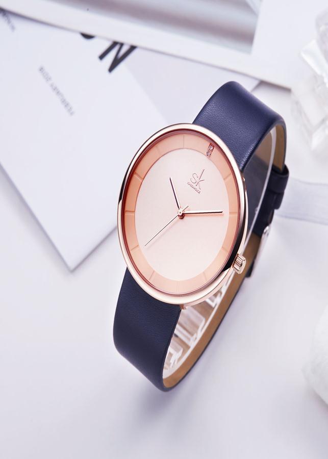 Đồng hồ nam chính hãng Shengke K8062G-02 Xanh