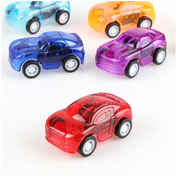 [1 sản phẩm] Mô hình ô tô con chạy cót độc đáo - Quà tặng, quà trang trí cho bé - Giao màu ngẫu nhiên