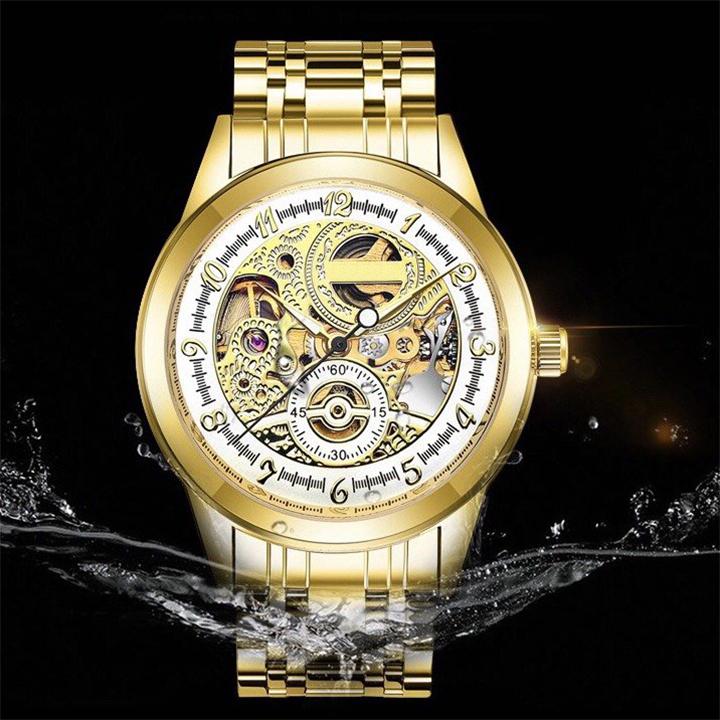 Đồng hồ cơ lộ máy nam 1102 -Đồng hồ cơ mới