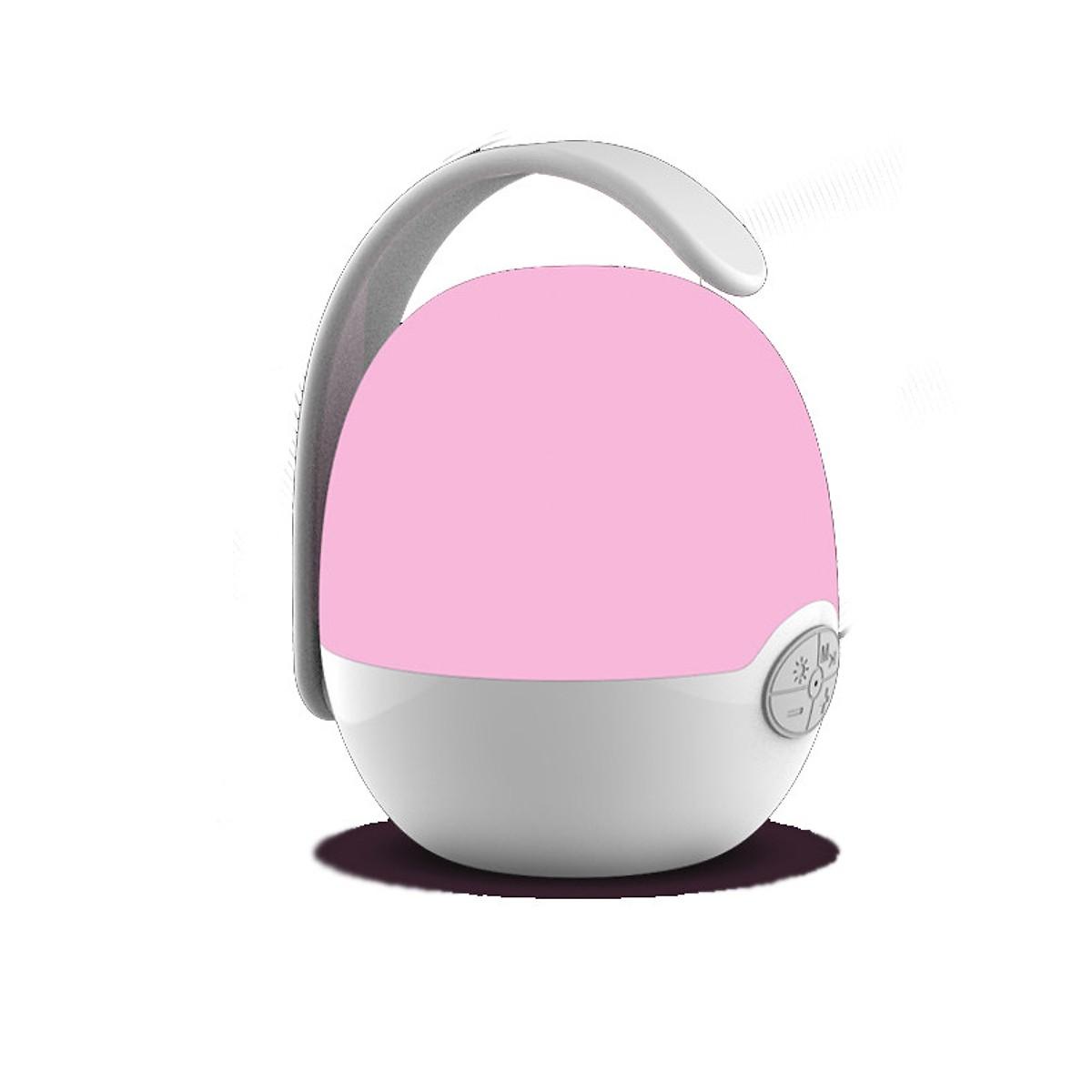 Loa Nghe Nhạc Mini Siêu Trầm Hình Quả Trứng+ Tai Nghe Kèm Mic Đàm Thoại Bluetooth Cao Cấp (Màu Ngẫu Nhiên)