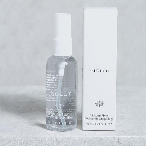 Dung dịch xịt khoáng làm bền lớp trang điểm Inglot Face Makeup Fixer