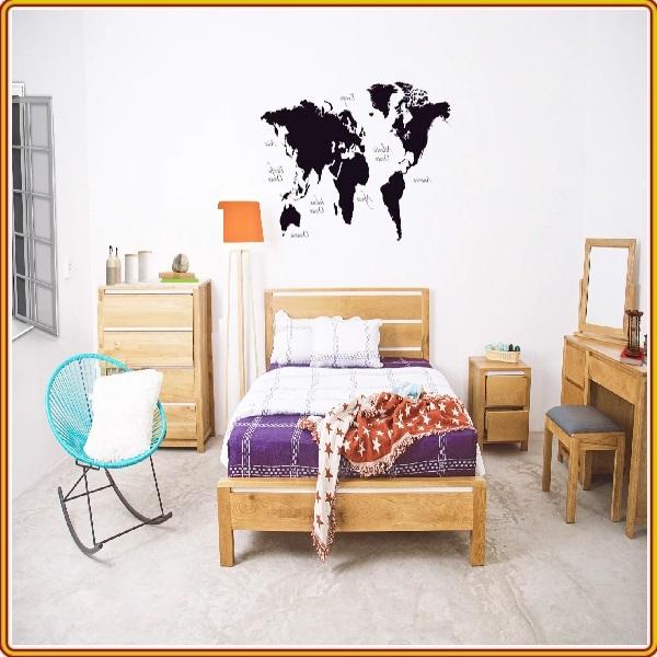 Bộ giường ngủ gỗ sồi 6 sản phẩm Juno Sofa
