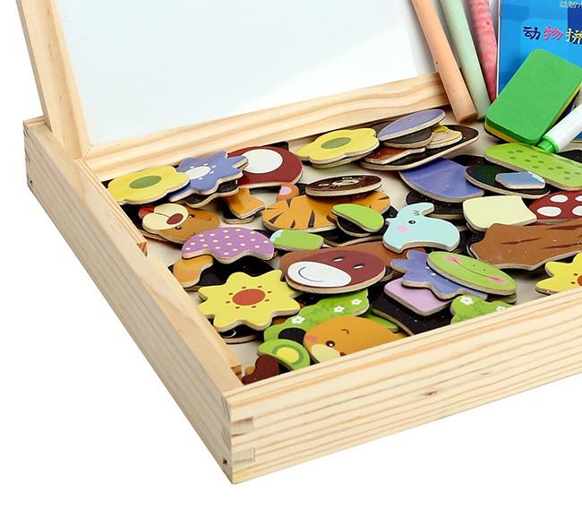 Bộ tranh ghép hình bằng gỗ cho bé 6