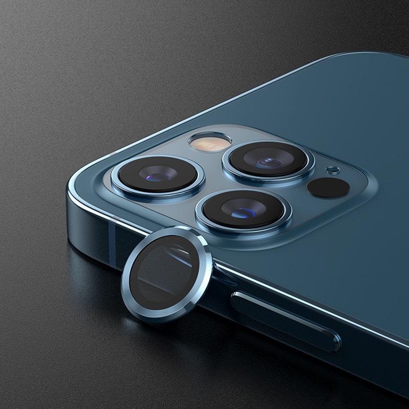 Bộ 3 dán bảo vệ camera cho iPhone 12 Pro Max dán từng mắt camera