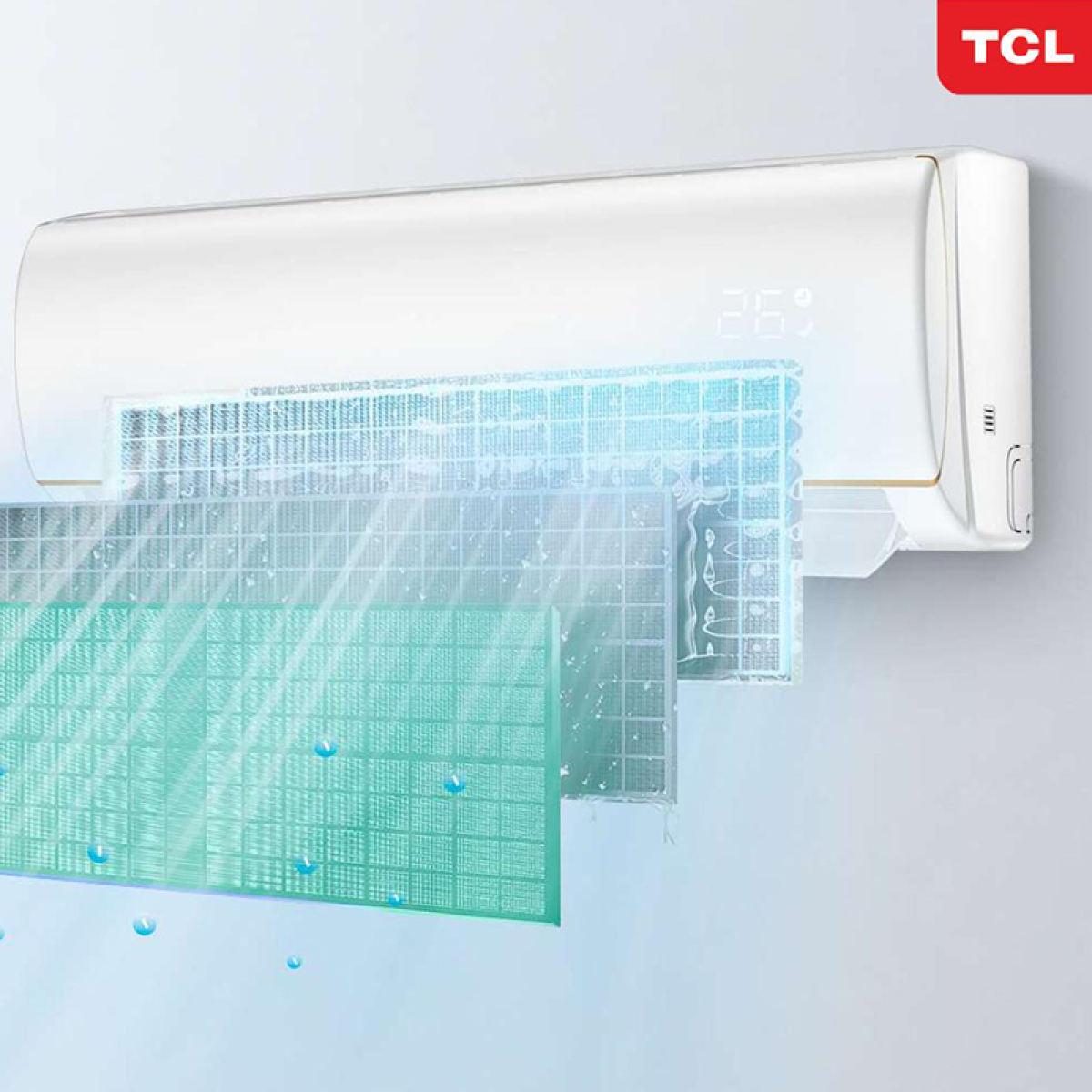 Máy lạnh Inverter TCL TAC-10CSD/XA66-WIFI - 1 HP -10.000 BTU công nghệ Turbo - Hàng chính hãng