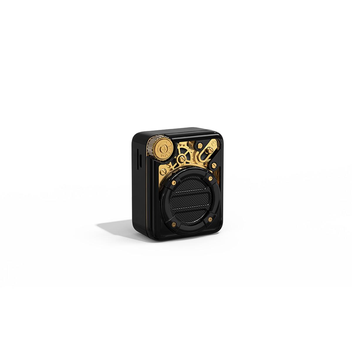 Loa Divoom Espresso 4W - tích hợp Bluetooth v 5.0, FM radio và TF card - Hàng chính hãng
