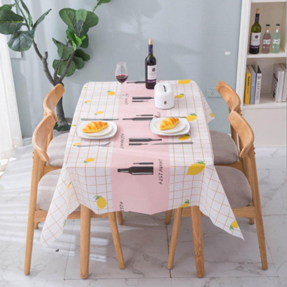 Khăn trải bàn, nhựa PVC chống thấm nước TL208