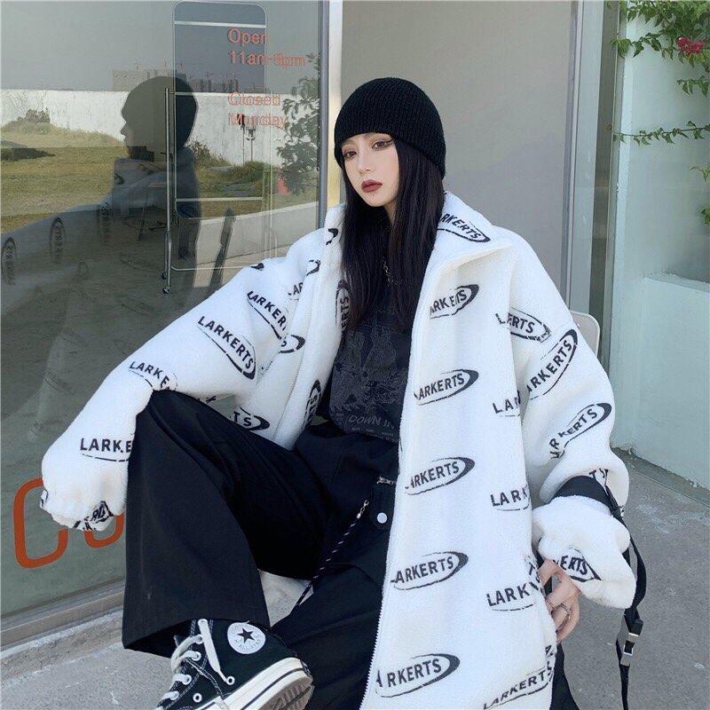 Áo khoác lông dày dặn cao cấp thời trang Hàn Quốc cho nam và nữ