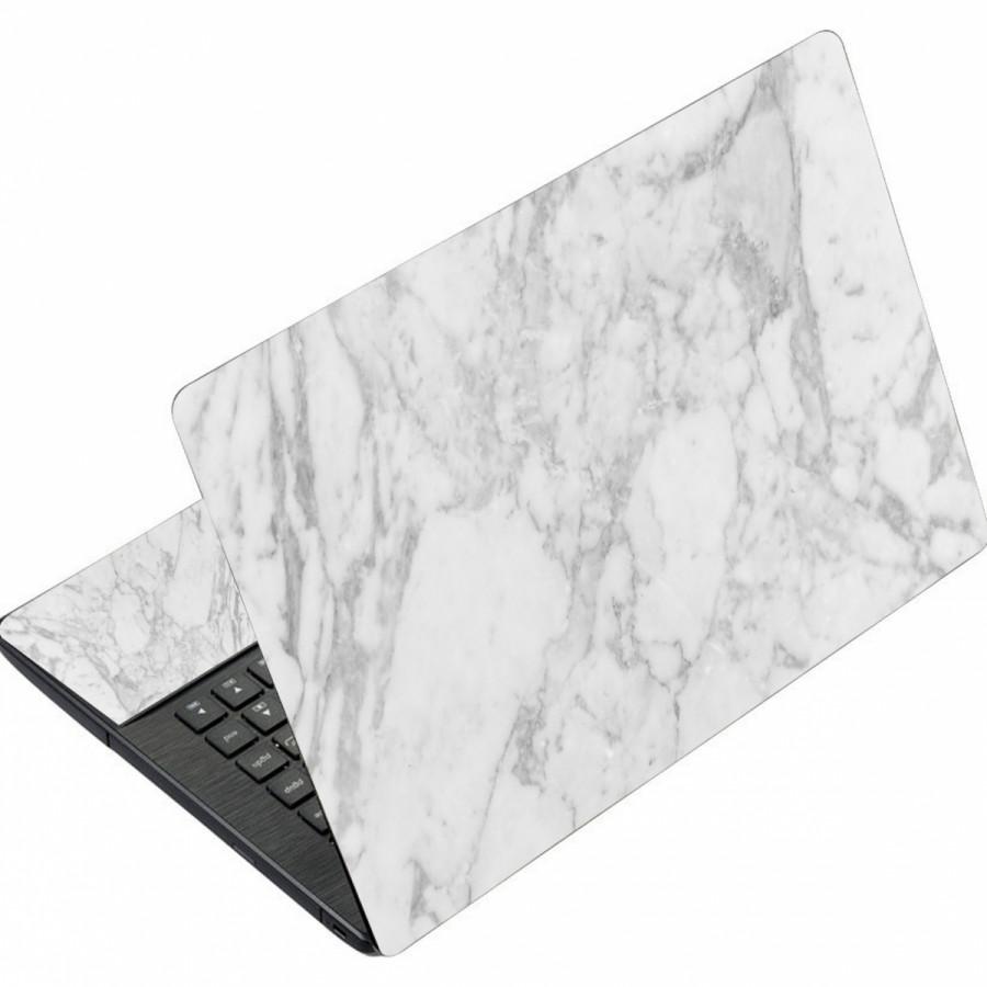 Mẫu Dán Laptop Vân Đá LTVĐ - 002 Mặt ngoài + lót tay 15.6 inch