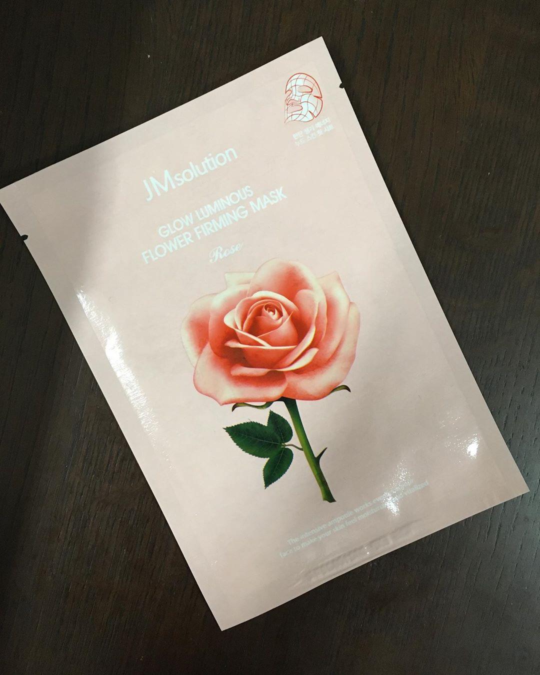 [10 miếng] Mặt nạ cấp ẩm và cung cấp dưỡng chất JMsolution Glow Luminous Flower Firming Mask 30ml