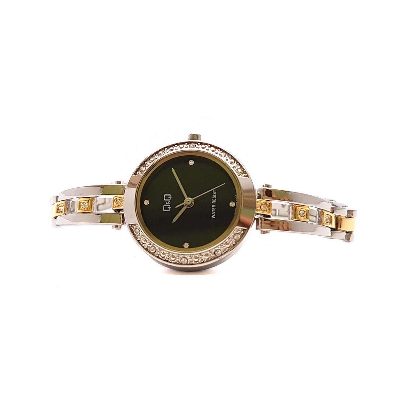Đồng hồ nữ Q&Q Citizen  F639J402Y dây sắt