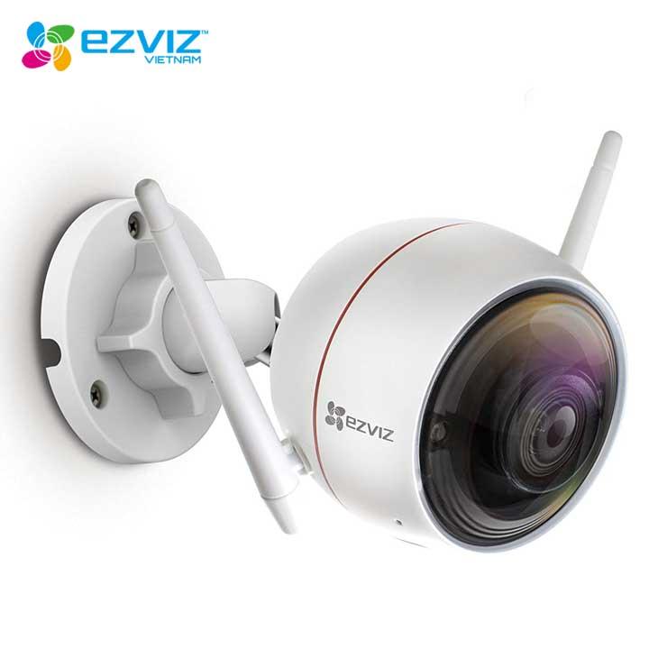 Trọn bộ Kit Camera IP EZVIZ CS-C3WN 2MP 4 Camera, đầu ghi CS-X5S-4W 4 kênh - Hàng chính hãng