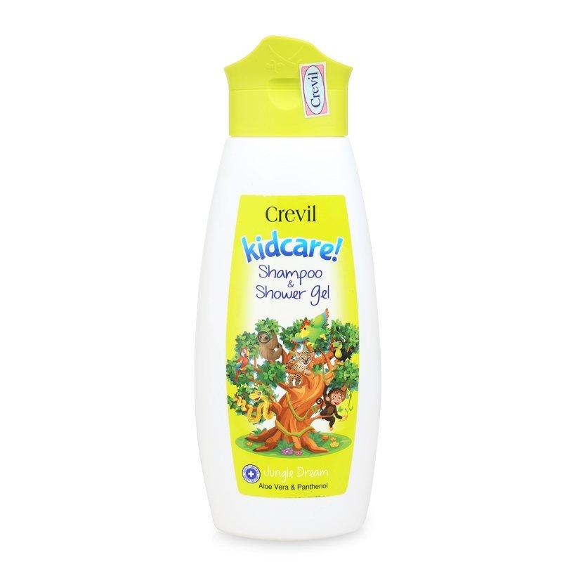 Crevil Kid care Shampoo & Shower Gel: Sữa tắm gội cho bé 2 trong 1