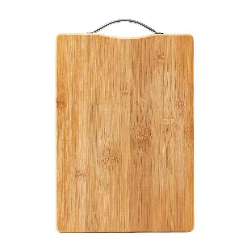 Thớt Tre Trúc Bamboo Board 38 x 28cm Có Quai Treo Hoặc Xách Chắc Chắn