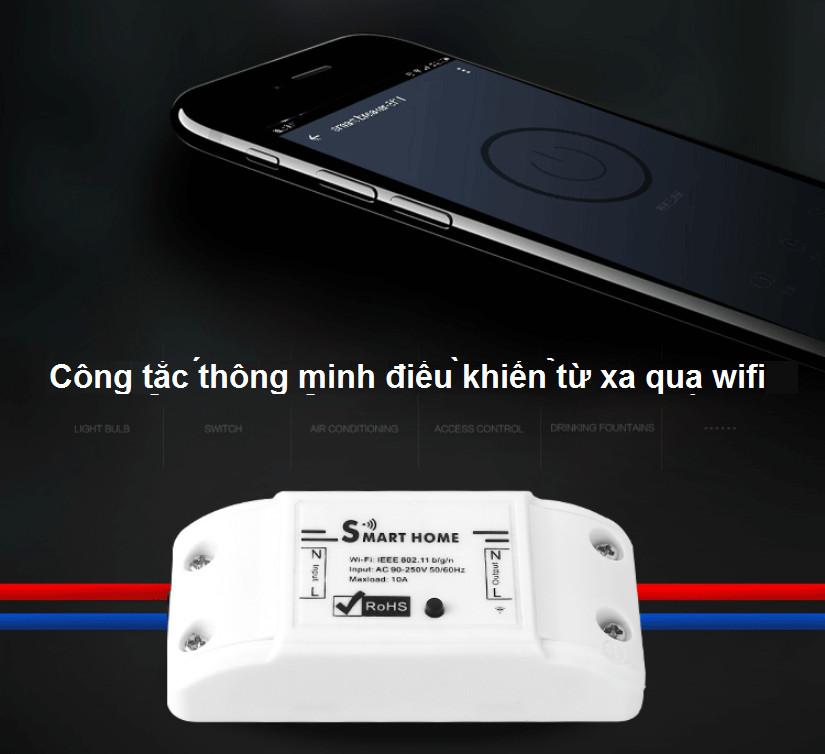 Công Tắc Wifi Điều Khiển Từ Xa T.u.y.a Basic