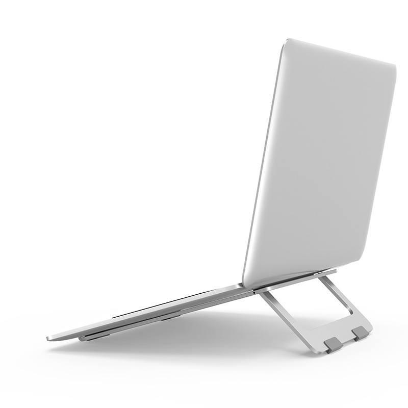 Đế nhôm gập tản nhiệt dành cho Macbook, Laptop - Hàng nhập khẩu