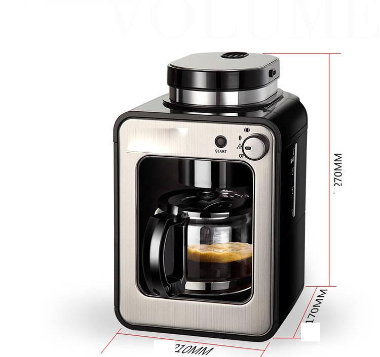 máy xay cà phê ,máy pha cafe tự động gotech gia đình