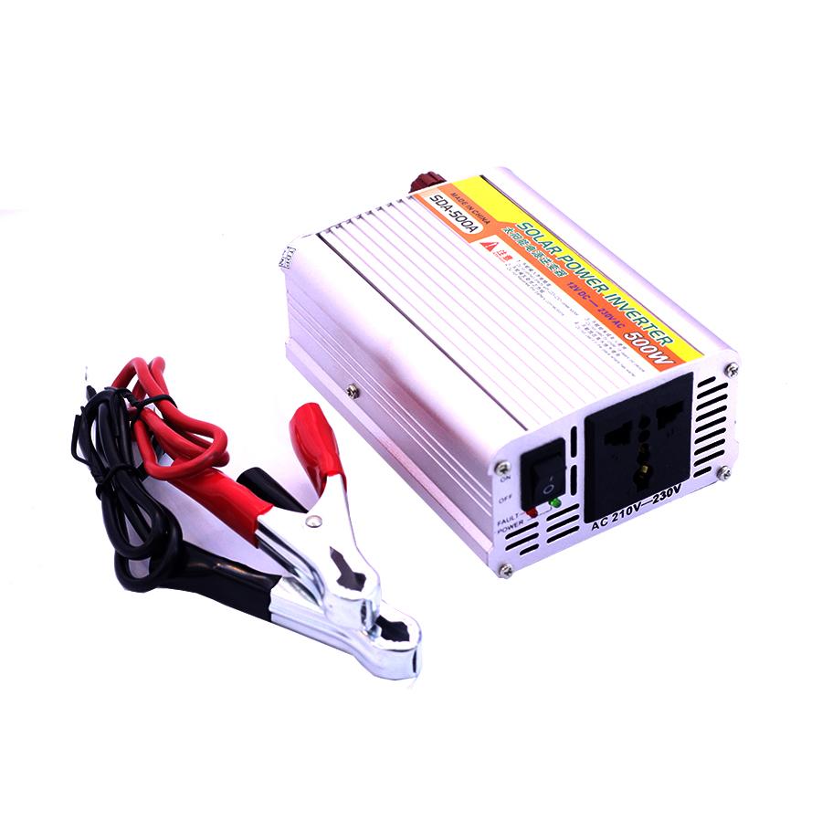 Kích Điện Solar SDA 12VDC Lên 220VAC Sin Mô Phỏng