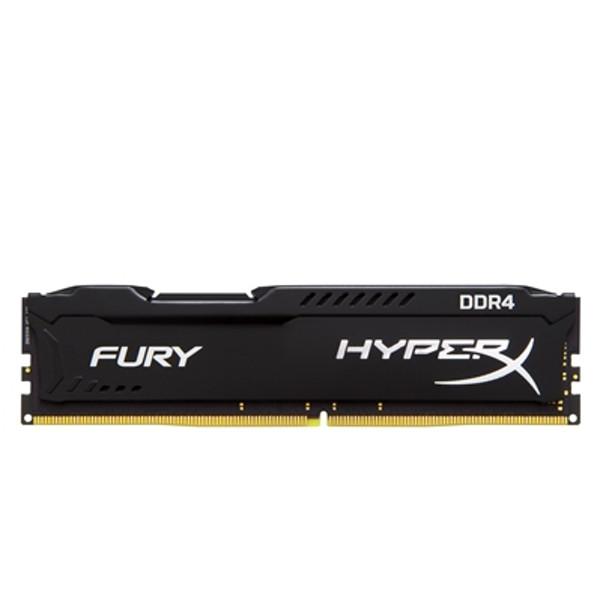 Ram desktop Kingston HyperX Fury Black 16GB (1x16GB) Bus 2666 DDR4 CL16 DIMM XMP Non-ECC HX426C16FB/16 - Hàng Chính Hãng
