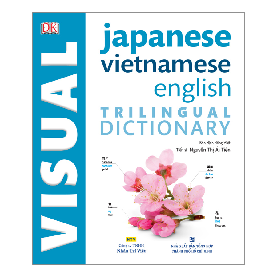 DK Trilingual Visual Dictionary – Japanese-Vietnamese-English