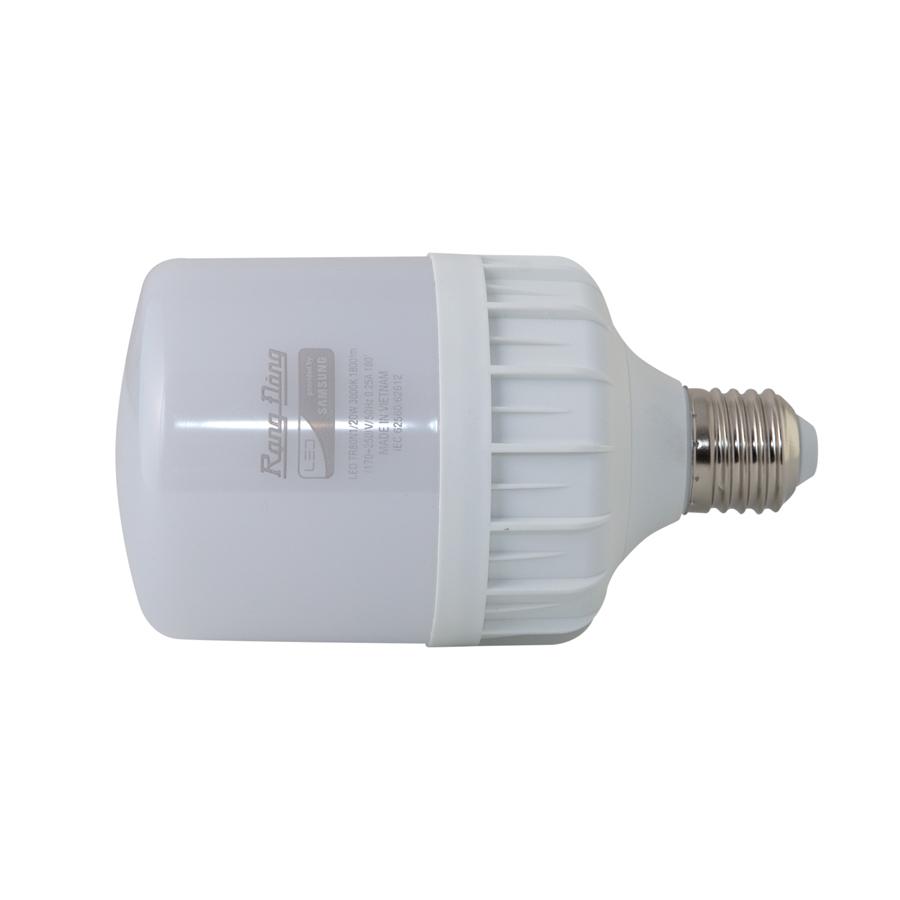 Bóng đèn led bulb trụ 20W Rạng Đông, Model LED TR80N1/20w