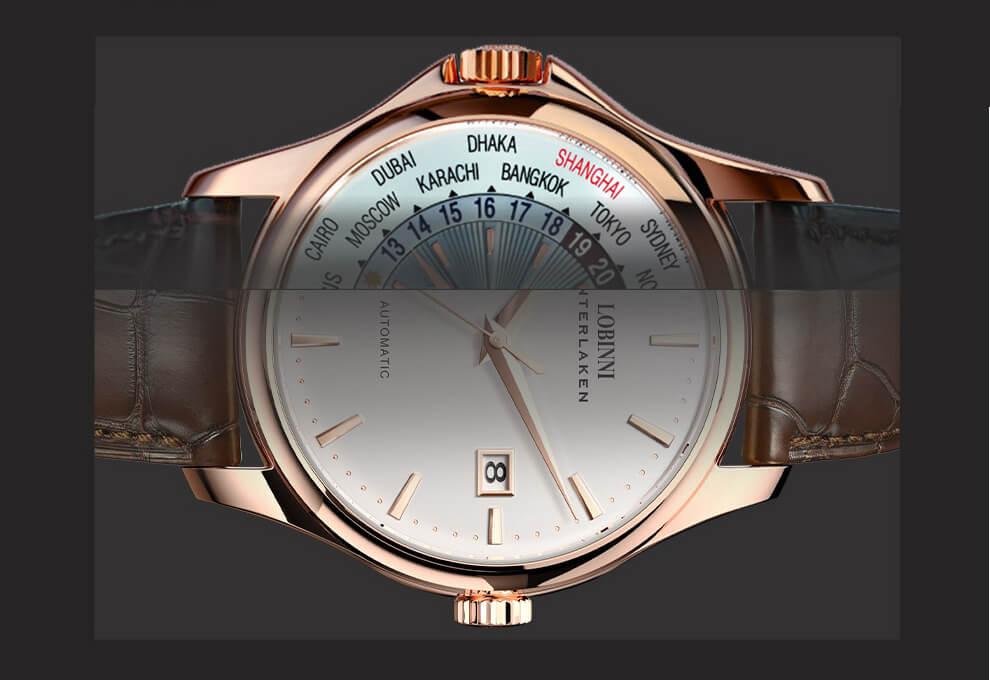 Đồng hồ nam chính hãng LOBINNI L12026