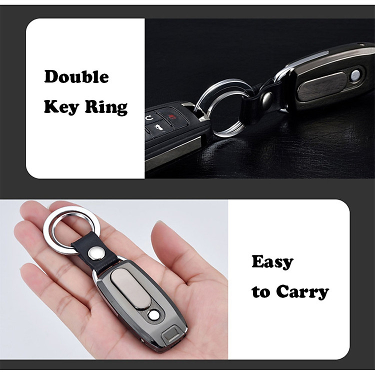 BẬT LỬA MÓC KHÓA HỒNG NGOẠI CÓ CỔNG SẠC USB